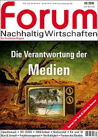 Zeitschrift forum nachhaltig wirtschaften