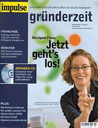 Zeitschrift Impulse: Gründerzeit